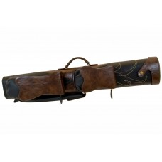 Billiard Cue Hard Case Classic Lakota I, brown-black, 2/4, 87cm